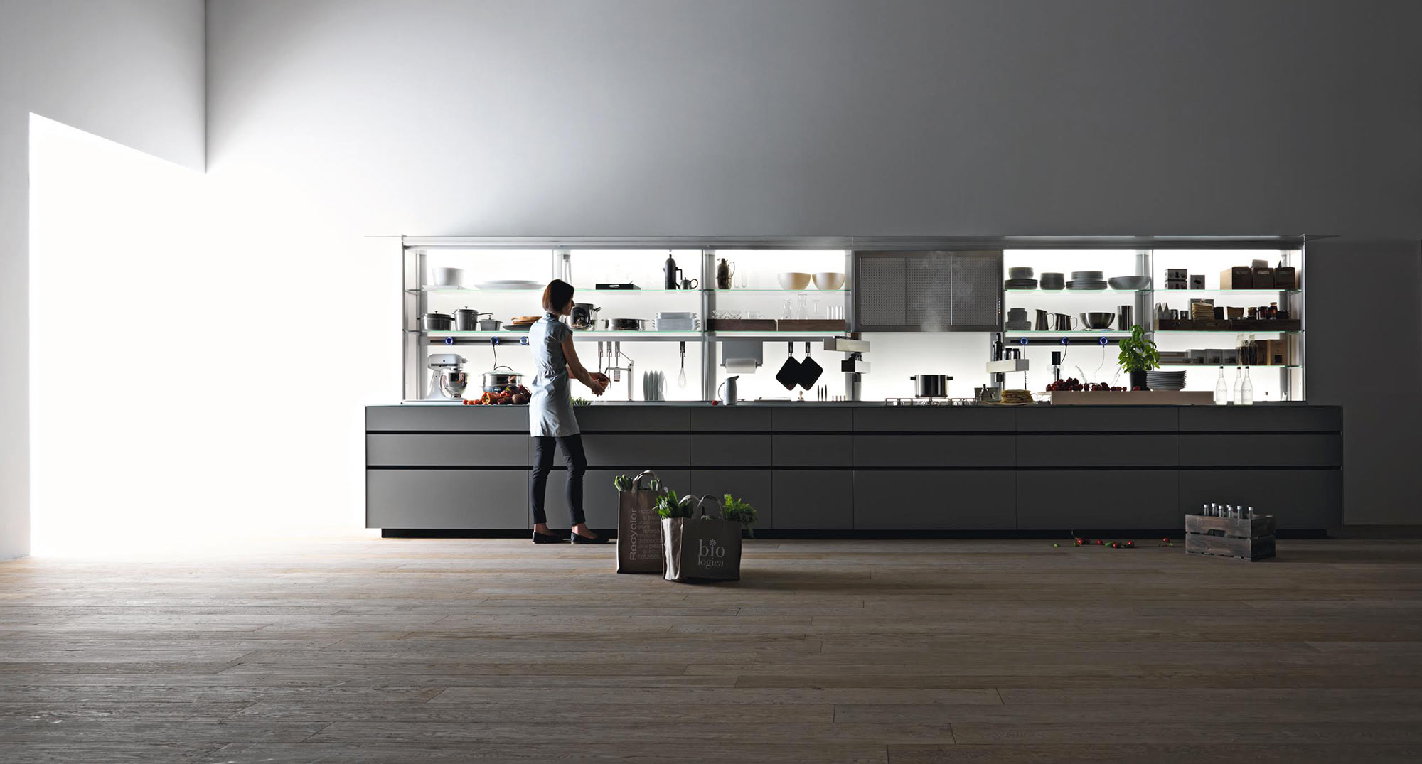 Valcucine New Logica | German Standard Wooden Parquet and Flooring ...